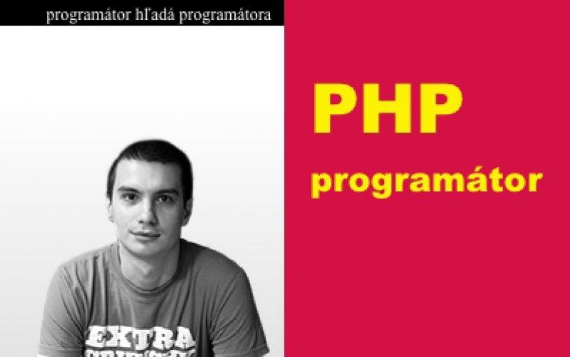 PHP programátor fotka